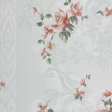 1940s Floral Wallpaper Red Roses 3