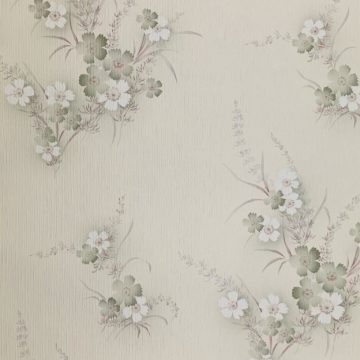 1950s floral wallpaper 1
