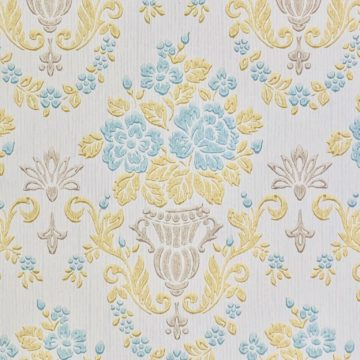 1950s vintage damask wallpaper 1