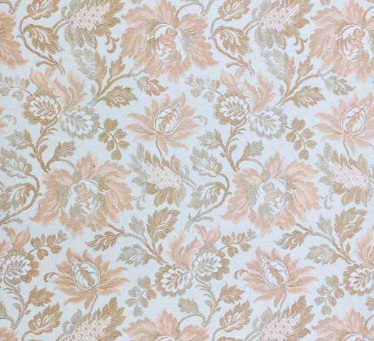 1960s Floral Wallpaper Pink