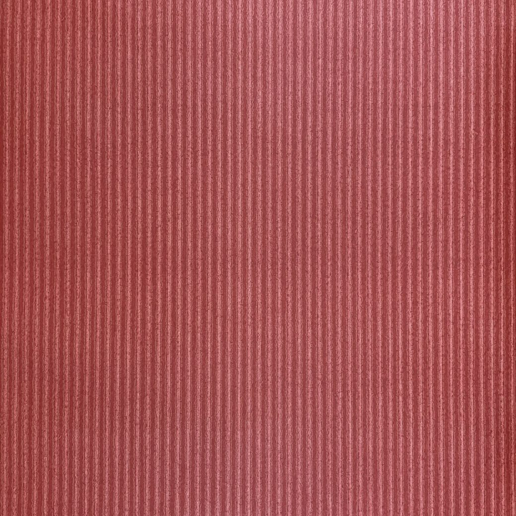 1960s Red Striped Wallpaper