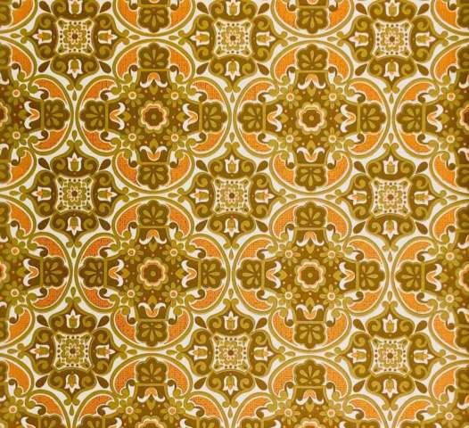 1960s vintage damask wallpaper