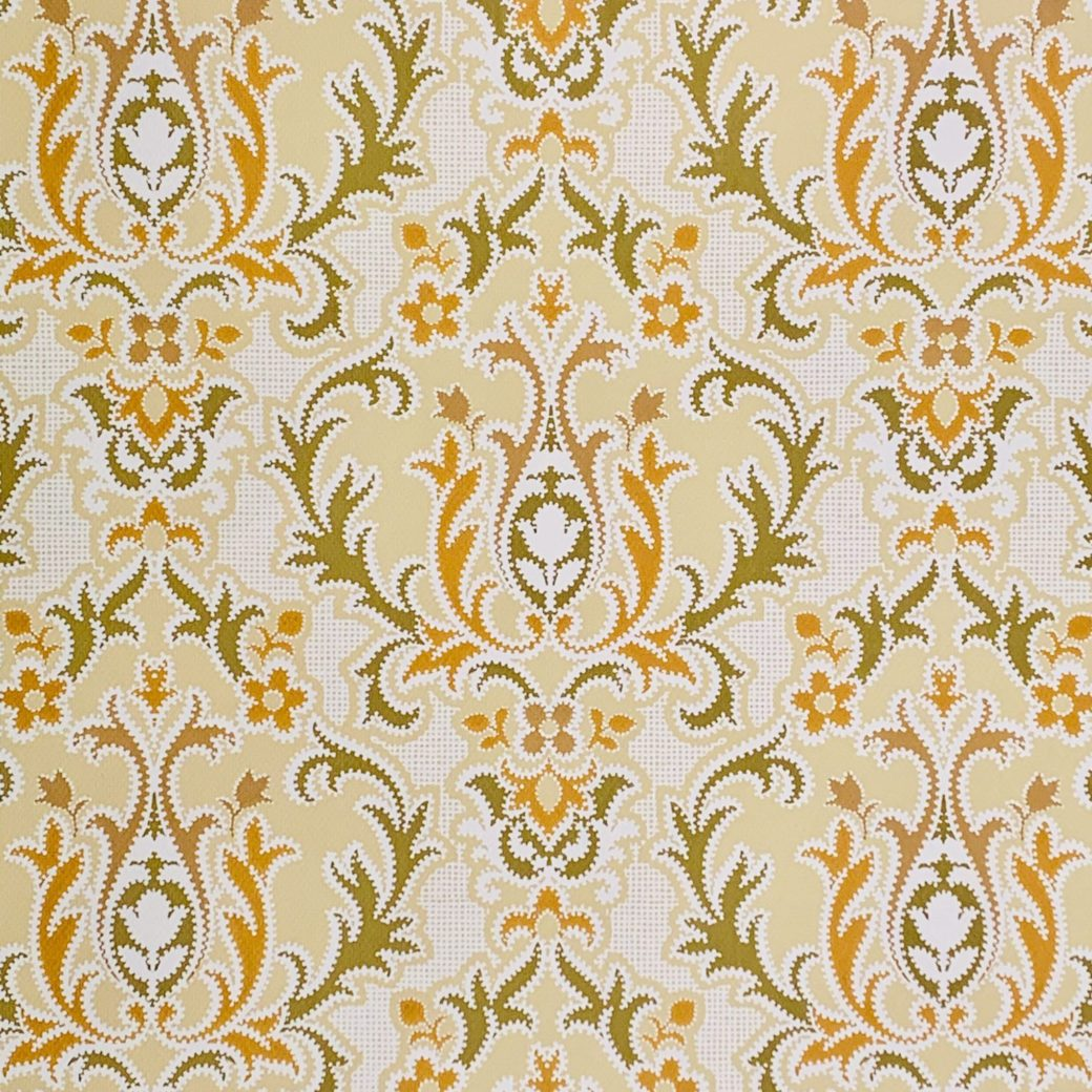 1970s baroque wallpaper