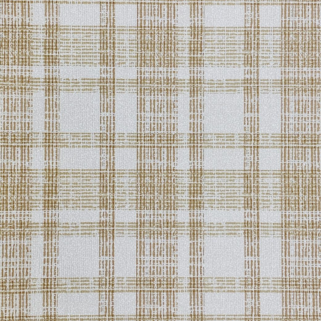 1970s Checkered Wallpaper Brown 1