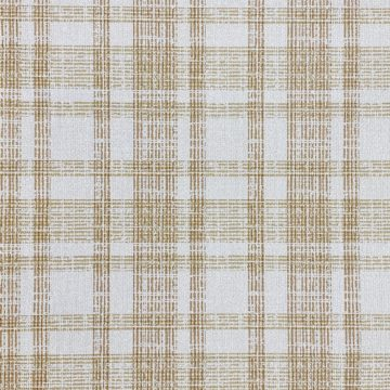 1970s Checkered Wallpaper Brown 2