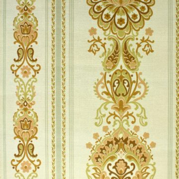 1970s damask vintage wallpaper3