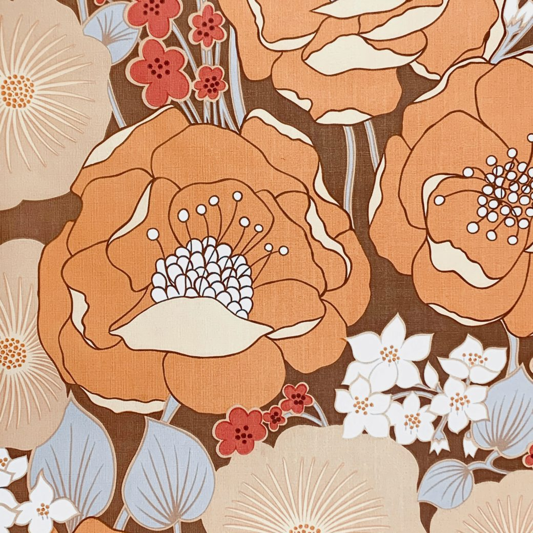 1970s Floral Wallpaper 3