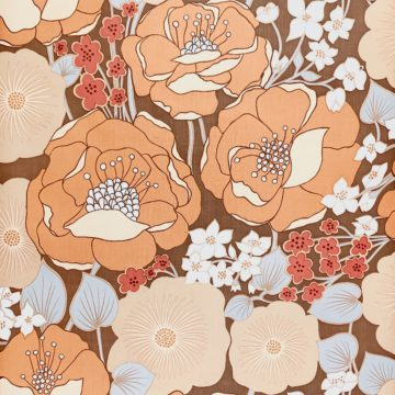 1970s Floral Wallpaper 2