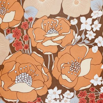 1970s Floral Wallpaper 4