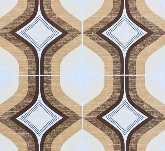 1970s Geometric Brown Wallpaper 1