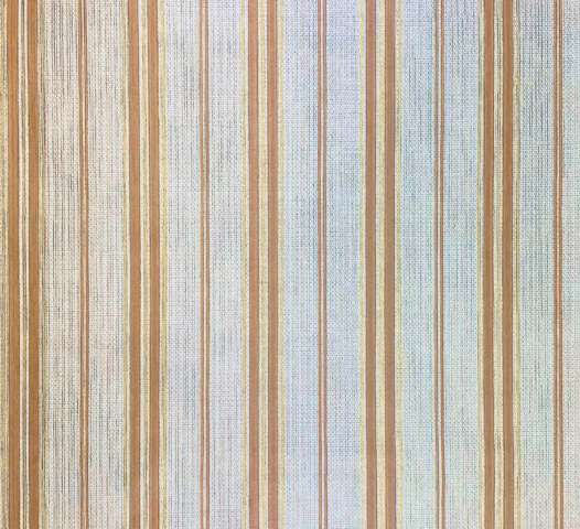 1970s Striped Wallpaper Brown and Gold 1