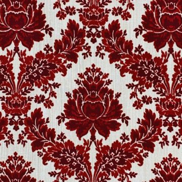 1970s vintage flocked velour wallpaper 4