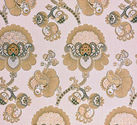 1970s vintage paisley wallpaper 5