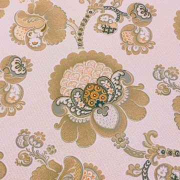 1970s vintage paisley wallpaper 2