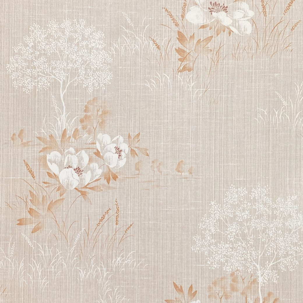 1980s Floral Wallpaper 3