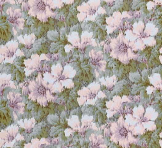 1980s graphic floral wallpaper