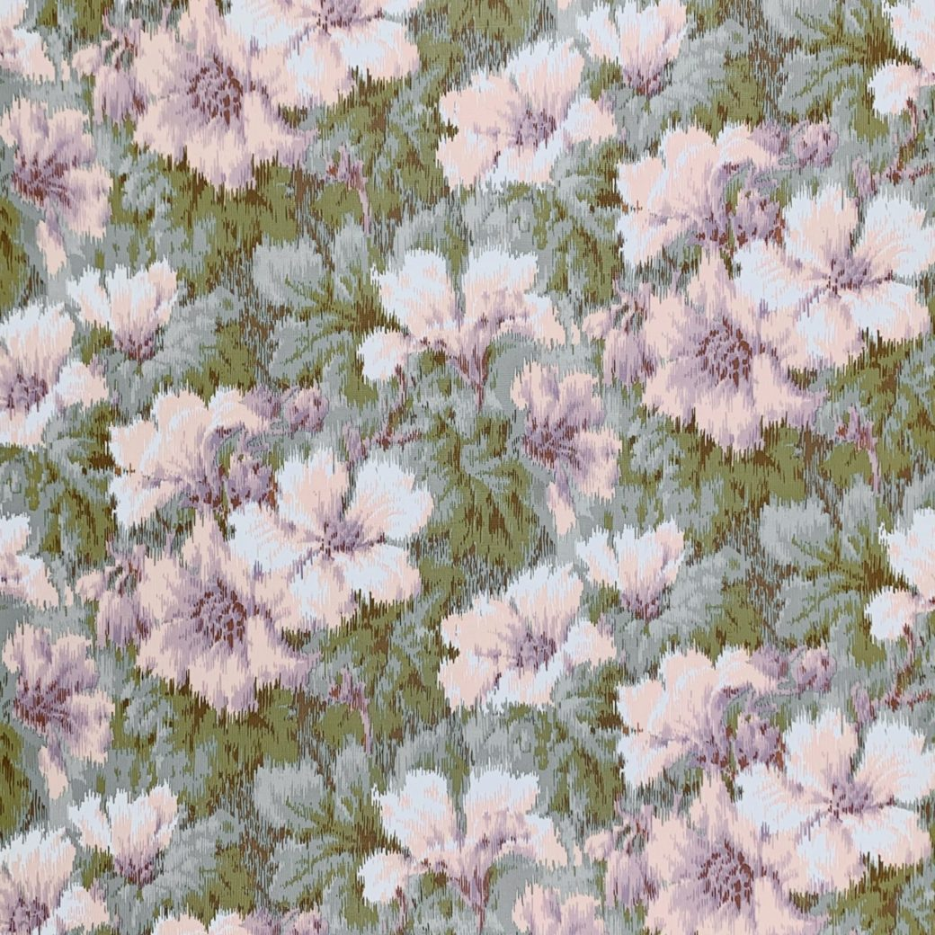 1980s graphic floral wallpaper 1
