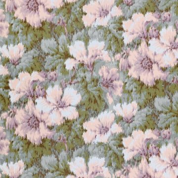 1980s graphic floral wallpaper 2