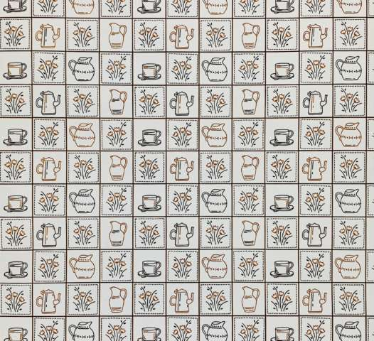 1980s Kitchen Wallpaper