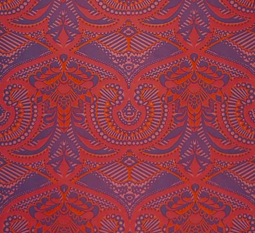1980s retro red and purple wallpaper 1