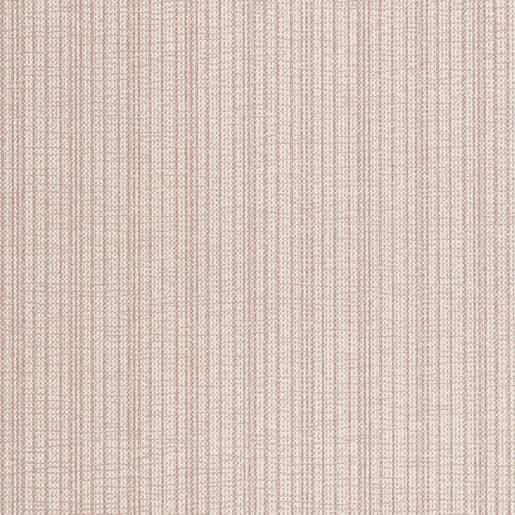 60s Soft Pink Striped Wallpaper 4