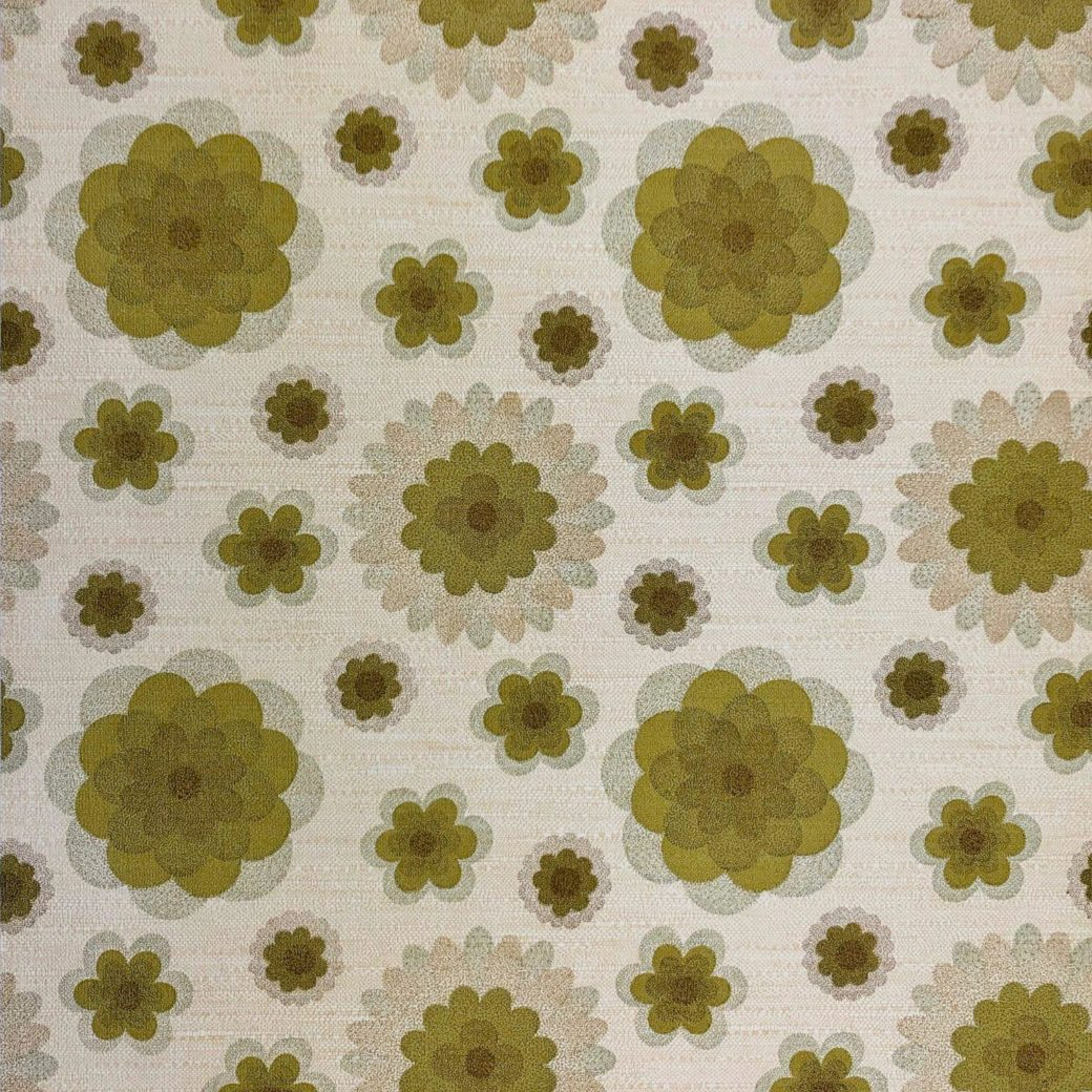 70s floral wallpaper