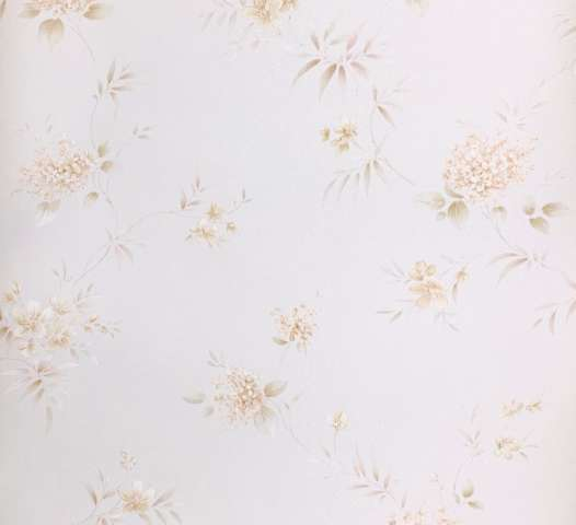 1980s romantic floral wallpaper