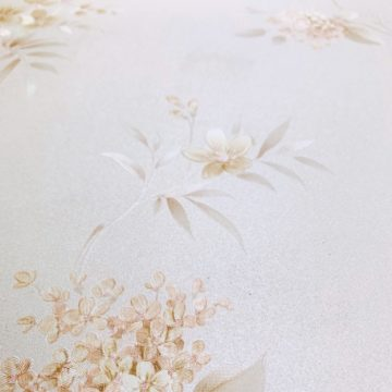 1980s romantic floral wallpaper 5