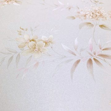 1980s romantic floral wallpaper 4