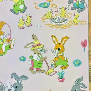 Authentic 1930s childrens wallpaper 2