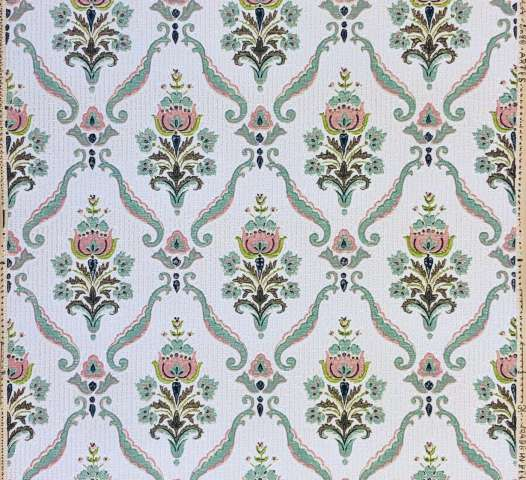 Authentic 1940s baroque wallpaper 3