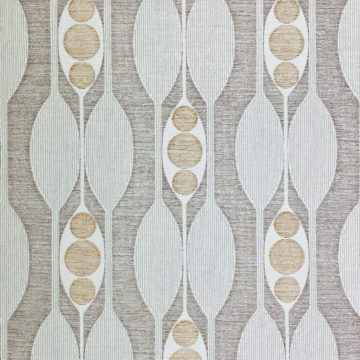 Authentic 1970s Geometric Wallpaper 1