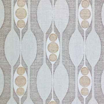 Authentic 1970s Geometric Wallpaper 4