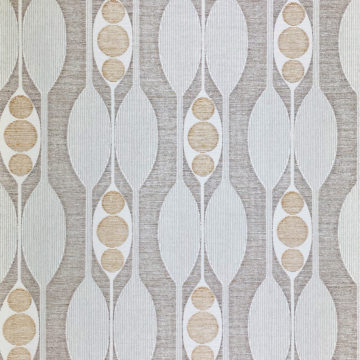 Authentic 1970s Geometric Wallpaper