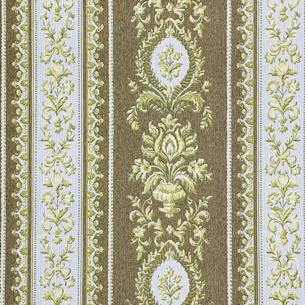 Baroque Striped Wallpaper 2