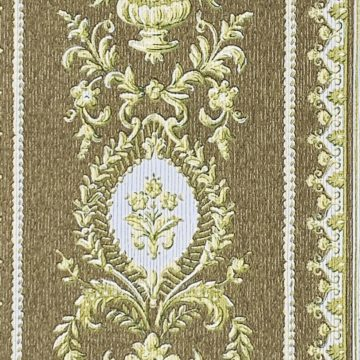 Baroque Striped Wallpaper 4