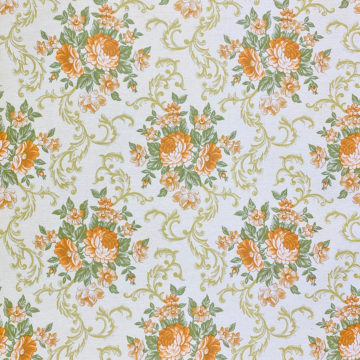 Baroque Style Floral Wallpaper 1
