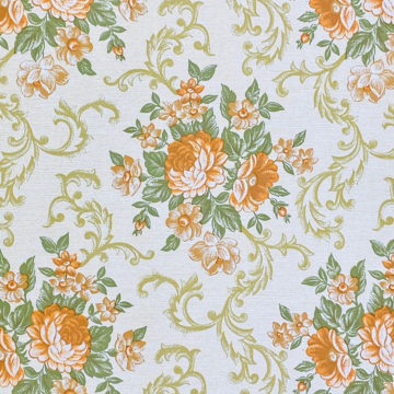 Baroque Style Floral Wallpaper 3