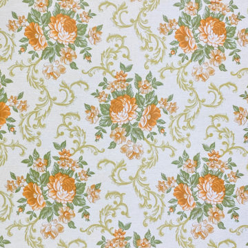 Baroque Style Floral Wallpaper 5