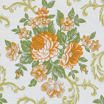 Baroque Style Floral Wallpaper 6