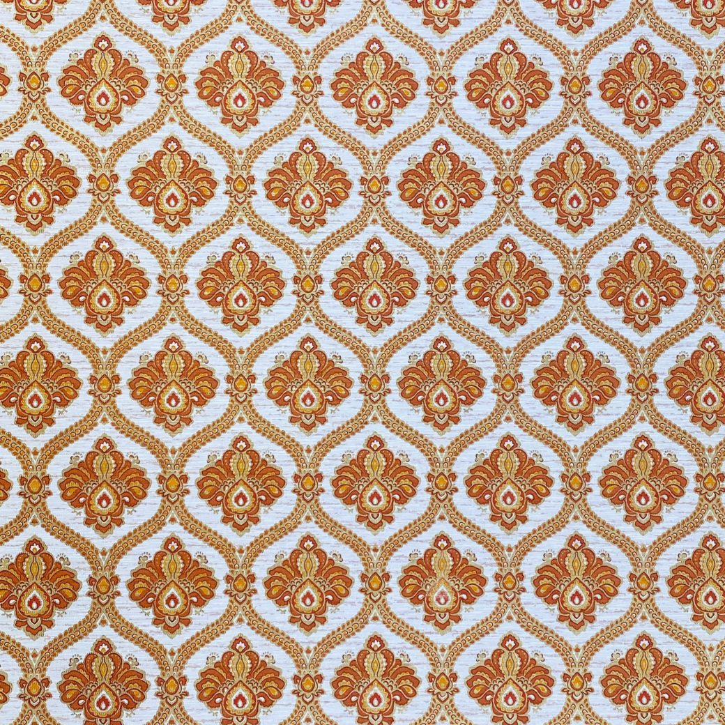 Baroque Wallpaper Gold and Brown 2