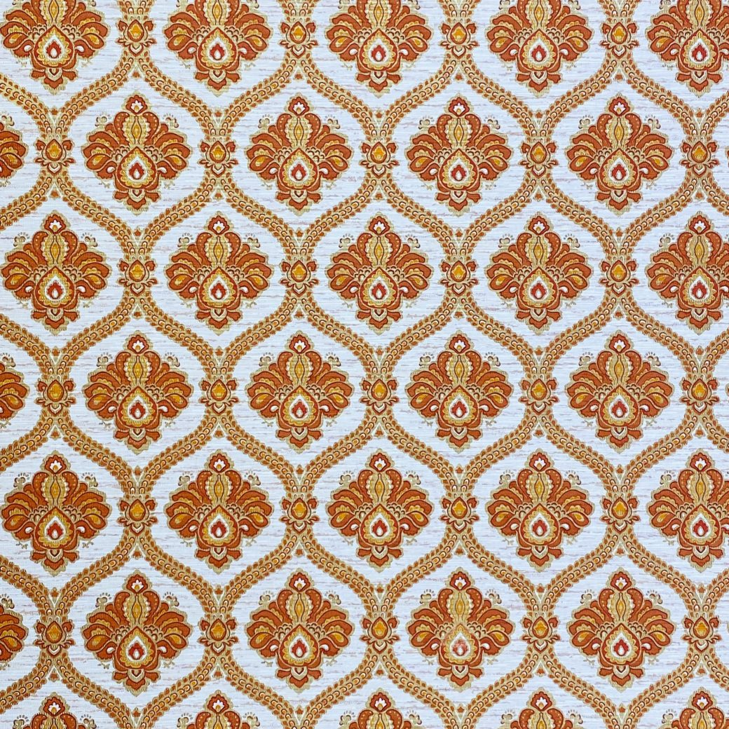 Baroque Wallpaper Gold and Brown 3