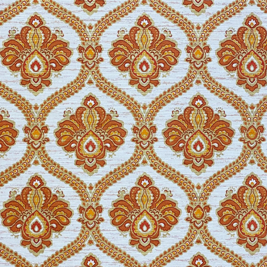 Baroque Wallpaper Gold and Brown 6