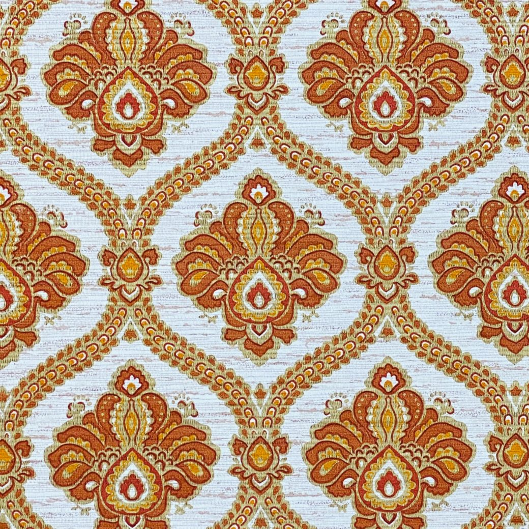 Baroque Wallpaper Gold and Brown 7