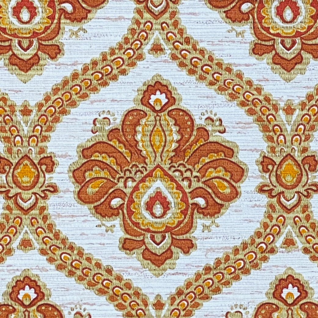 Baroque Wallpaper Gold and Brown 9