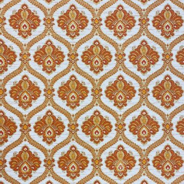 Baroque Wallpaper Gold and Brown 4