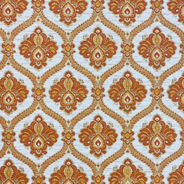 Baroque Wallpaper Gold and Brown 5