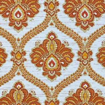 Baroque Wallpaper Gold and Brown 8