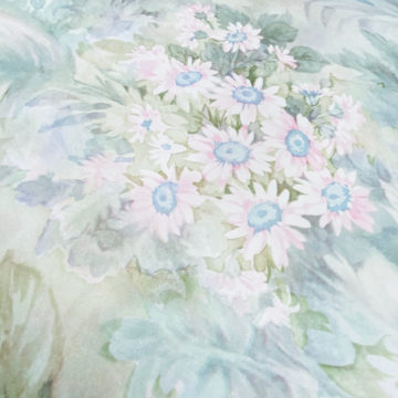 Blue and Pink Floral Wallpaper 7
