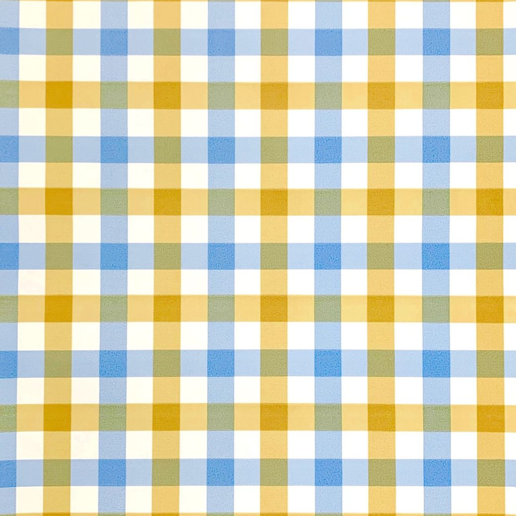 Blue checked wallpaper